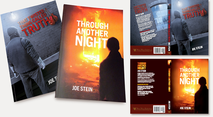 Joe Stein's thrillers: Book jacket design & illustration