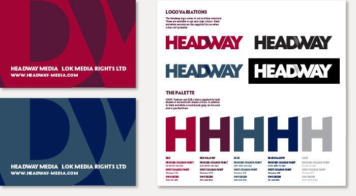 Headway LOK Media rebrand & branding guidelines