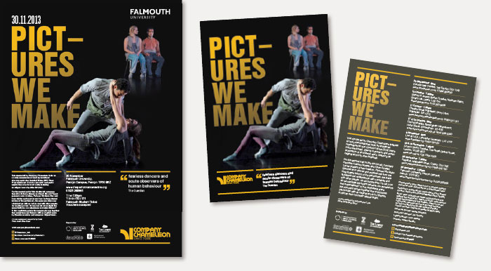 Company Chameleon Dance Theatre: UK tour print