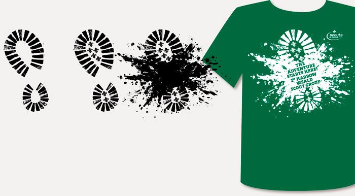 1st Harrow Weald Scouts T-shirt
